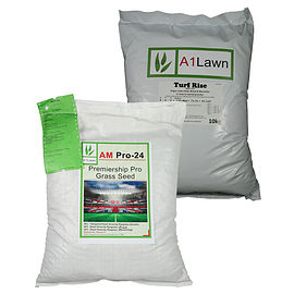 AM-24 Premiership Pro Grass Seed with Weed, Feed & Moss Killer