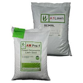 AM Pro-1 Finest Ornamental Luxury Lawn Grass Seed & Pre-seeder Fertiliser