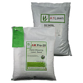 AM Pro-25 Tough Hard Wearing Lawn Grass Seed & Pre-seeder Fertiliser
