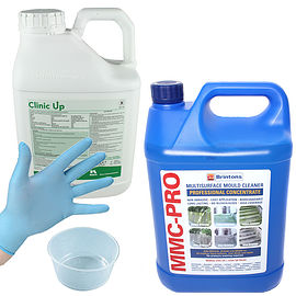 Clinic Up Weed Killer & MMC-Pro Hard Surface Cleaner