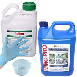 Gallup Biograde Amenity Weed Killer & MMC-Pro Hard Surface Cleaner