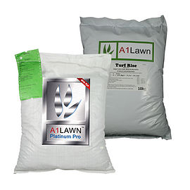 Platinum Pro Grass Seed (with Rye) with Weed, Feed & Moss Killer