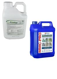 Rosate TF Weed Killer & MMC-Pro Hard Surface Cleaner