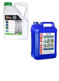 Roundup ProActive Weed Killer & MMC-Pro Hard Surface Cleaner